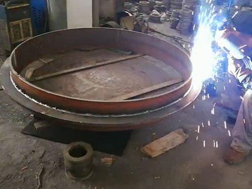 刚性防水套管生产现场